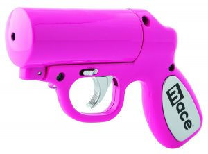 pink pepper spray gun for women