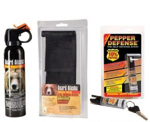 camping safety spray and bear protection