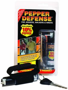 pepper spray for hiking or walking