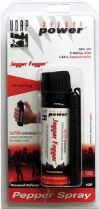 fogger pepper spray for runners
