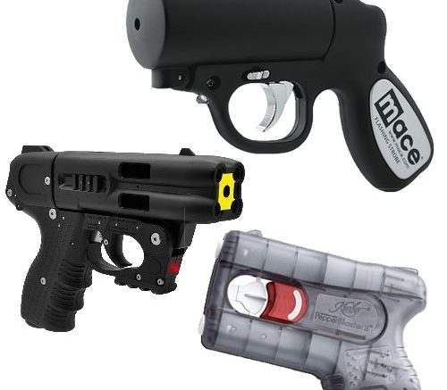 Image result for pepper spray gun