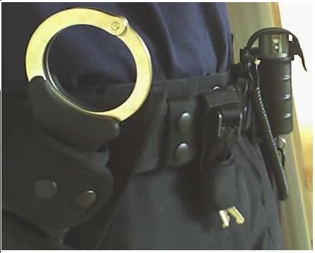 pepper spray holster police belt