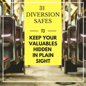 31 Diversion Safes - Hide Your Valuables In Plain Sight