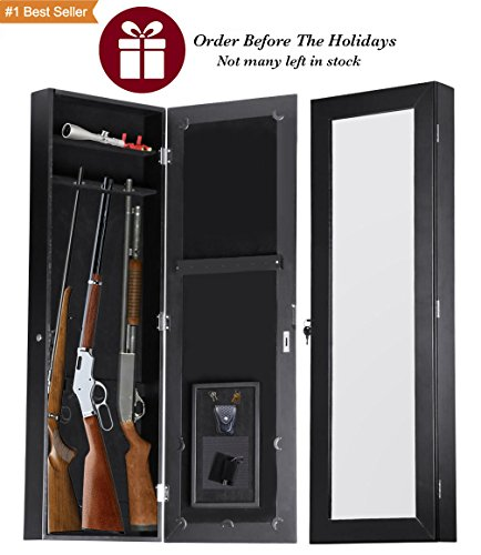 Another Unique And Versatile Design Is This Hidden Gun Cabinet Armoire. You  Can Conceal Multiple Rifles Behind This Mirror, Making It A Great Gun Stash  For ...